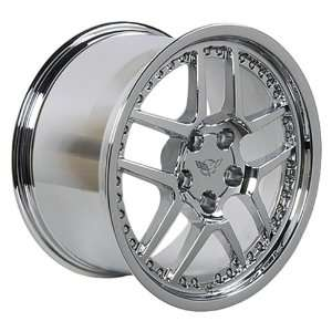Chevy Corvette Z06 Style Wheel Chrome Wheels Rims 1988 1989 1990 1991