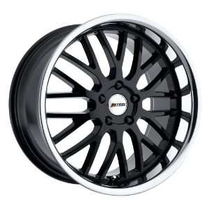 18x8 Petrol Vengeance (Gloss Black w/ Stainless Steel Lip) Wheels/Rims