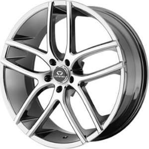Lorenzo WL035 18x8 Chrome Wheel / Rim 5x112 with a 15mm Offset and a