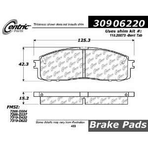 Rear StopTech Street Performance Brake Pads 309.06220 Automotive