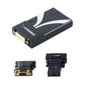 Sabrent USB 1612 Multi Display USB 2.0 to DVI/VGA/HDMI