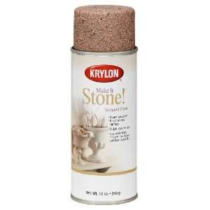 Krylon K18202 Make It Stone Textured Aerosol Spray Paint