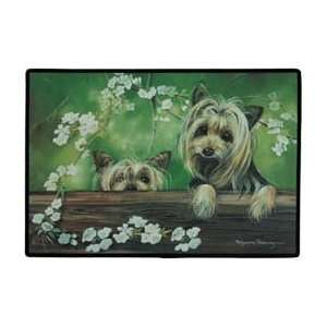 Fiddlers Yorkie Yorkshire Terrier Dogs Indoor / Outdoor