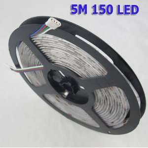 5M 500cm 5050 Waterproof IP65 RGB 150 SMD LED Lamp Light Strip Stripe