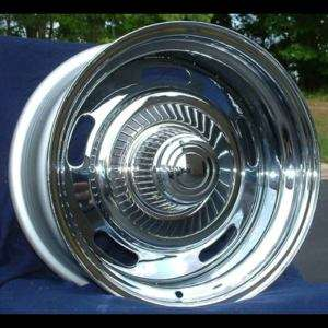 15 15x8 Chevy Corvette Chrome Rally Wheels 1969 1982