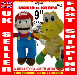 MARIO AQ COLLECTION SET   22.5 cm / 9 series SUPER MARIO BROS plush