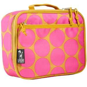 Wildkin New Lunch Box Big Dots Hot Pink