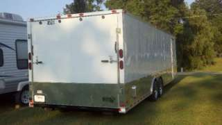 30ft inside enclosed cargo motorcycle trailer car hauler NEW