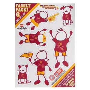 Arizona State Sun Devils Family Decal Small Package