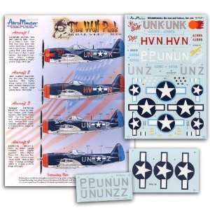 47 Wolf Pack, Part 8 56th Fighter Group (1/48 decals) Toys & Games