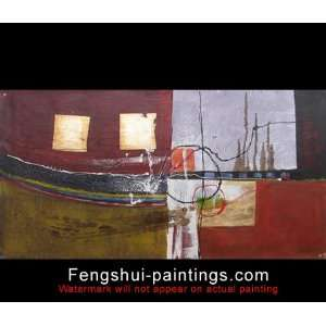 Abstract Modern Painting, Canvas Art Oil Painting c0770