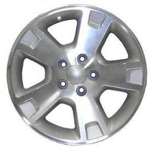 02 04 FORD EXPLORER ALLOY WHEEL (PASSENGER SIDE)  (DRIVER RIM 17 INCH