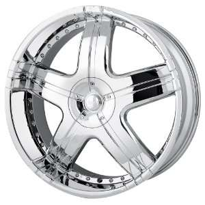 Style MP206 (Chrome) Wheels/Rims 6x139.7 (MP206 24984C) Automotive