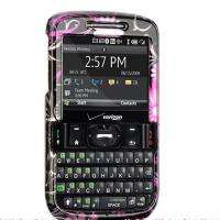 HARD CASE PINK BUTTERFLY SKIN COVER 4 HTC OZONE XV6175