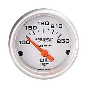Auto Meter 4447 Ultra Lite 2 5/8 140 300 F Short Sweep Electric Oil