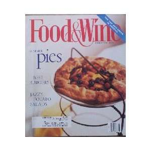Food & Wine Magazine (Food & Wine, August 1994) Dana Cowin Books