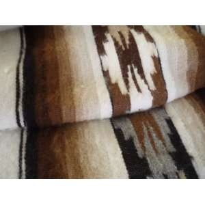 100% Alpaca Wool Blanket in Natural Colors and Hand