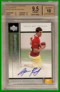 Aaron Rodgers 2005 Upper Deck Premiere Auto Autographed SP Rookie Card