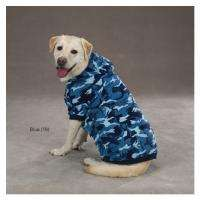 CAMO DOG HOODIE Soft Fleece SWEATER COAT PUPPY PET CLOTHES