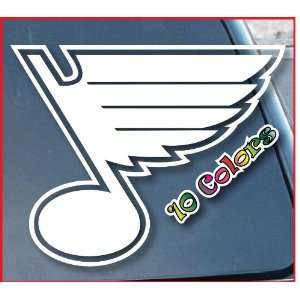 St. Louis Blues Window Vinyl Decal Sticker 4 Wide (Color