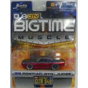 Jada Toys 1/64 Scale Diecast Dub City Big Time Muscle 1969 Pontiac Gto
