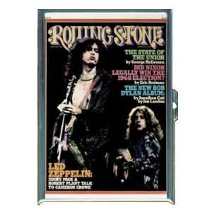 JIMMY PAGE ROBERT PLANT LED ZEPPELIN ID Holder Cigarette Case Wallet