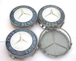 MERCEDES BENZ Emblem Wheel Center Caps Covers B C E AMG