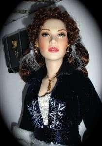 Franklin Mint ROSE TITANIC PORCELAIN DOLL DOTY 2000 NIB