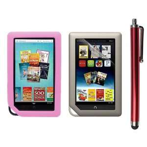 Phone Stylus Pen(Red Body) for Barnes&Noble Nook Color Ebook Reader