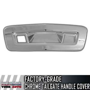 2012 Chevy Traverse Chrome Tailgate Handle Cover (W/ Camera Cutout