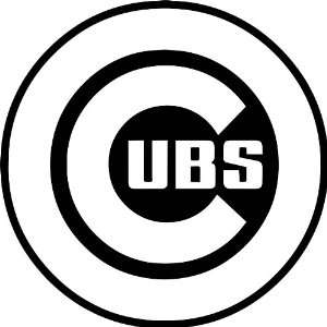 Chicago Cubs MLB Vinyl Decal Sticker / 4 x 4 Everything