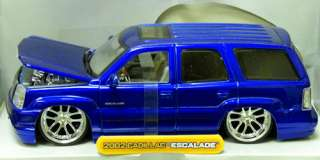 auction is for candy purple 2002 cadillac escalade diecast model car