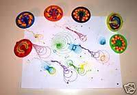 SPIN TOP MARKERS toys 4 gifts prizes kids arts crafts