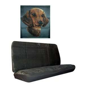 Car Truck SUV Dachshund Dog Print Rear Bench or Small