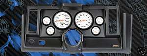 Thunder Road 69 Camaro Blk Dash Panel with 5 PH Gauges
