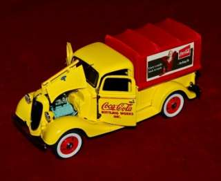 MINT DIE CAST REPLICA 124 COCA COLA DELIVERY TRUCK FORD PICK UP 1935