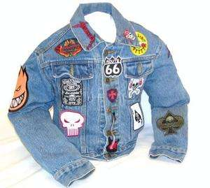 Unique Kids/ Boys Size 6 Heavy Metal 80s Style Retro Vintage Rocker