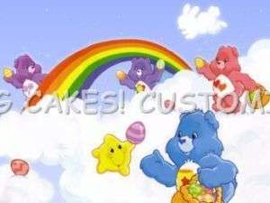 Care Bears Edible Cake Topper Image Birthday Classics