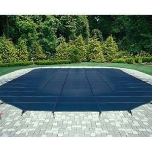 Arctic Armor Blue Mesh Safety Cover for 20 ft x 44 ft Pool