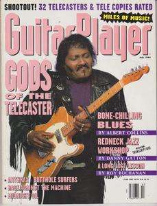 Player Magazine (July 1993) Gods of the Telecaster / Albert Collins