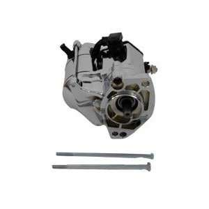 94 06 Big Twin Volt Tech Polished Chrome Starter Motor 1