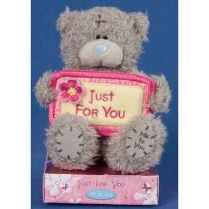 Me to You Tatty Teddy Bear 4 (10.16 Cm) Bear with Banner