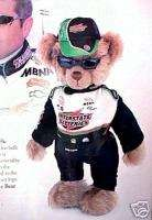 Franklin Mint BOBBY LABONTE COLLECTOR BEAR ~ COA NIB