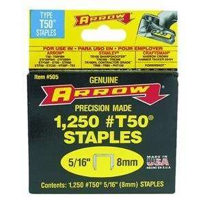 Arrow Fastener 50524 T50 Staples (Pack of 4)