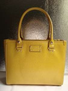 NWT KATE SPADE WELLESLEY QUINN TOTE PURSE OCHRE