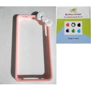 Baby Pink / Light Pink Super Duty Bumper Frame Skin Case