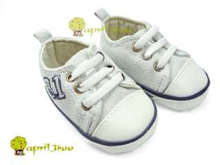 New Cute Baby Boy Girl shoes Sneaker soft sole(C82)size 2 3 4