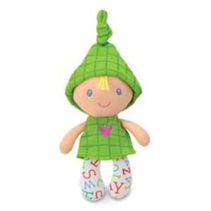 Smarty Kids Dolly Squeakers Green Baby Doll Toys & Games