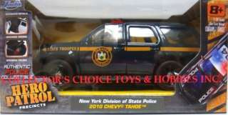 JADA 1/32 HERO PATROL NEW YORK POLICE 2010 CHEVY TAHOE