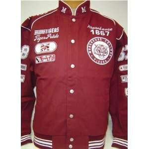 Large Morehouse College Tiger Pride Heavyweight Snap up Racing Style